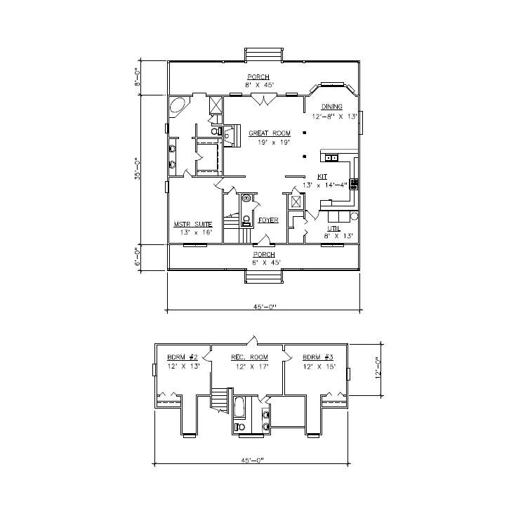 Oakwood Ii Floorplan