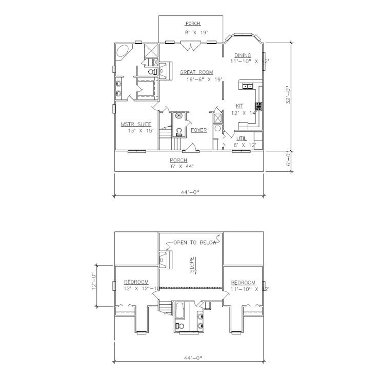 Oakwood Floorplan
