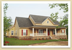 Home Builders In South Alabama Princeton House Image - Bass Homes, Inc.