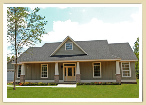 Dalton Ii Model Home Stapleton Baldwin County Mobile